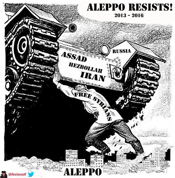 Halep Kan İçicilere Karşı Direniyor galerisi resim 1