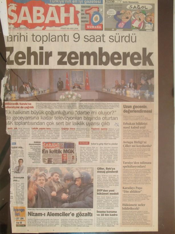 28 Şubat Medyasının Kirli Manşetleri galerisi resim 1