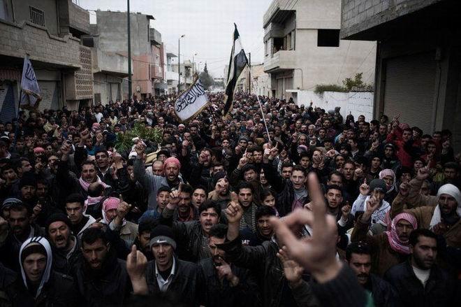 Fransız Gazetecinin Objektifinden Suriye 1