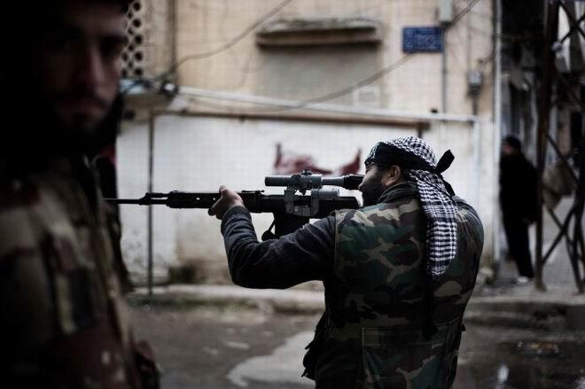Fransız Gazetecinin Objektifinden Suriye 16
