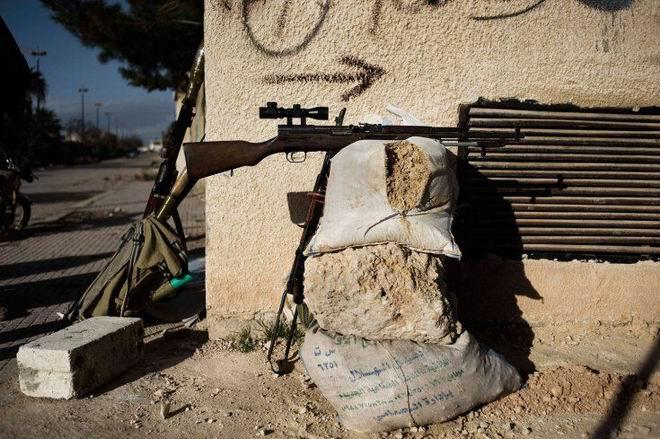 Fransız Gazetecinin Objektifinden Suriye 20