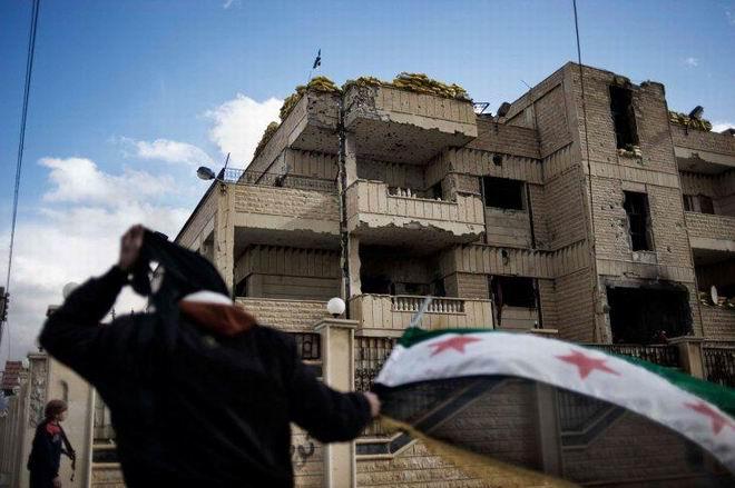 Fransız Gazetecinin Objektifinden Suriye 24