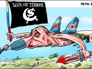 Putin Suriye'de
