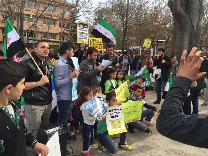 Suriye İntifadası Ankara'da Selamlandı 1