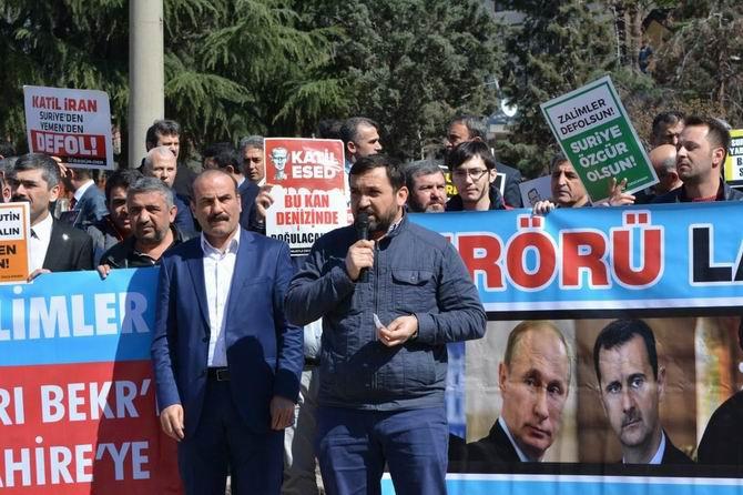 Amasya'da Suriye İntifadası Selamlandı 1