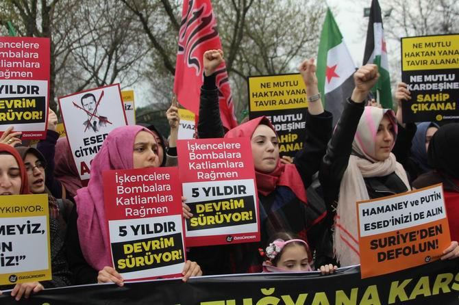 Suriye İntifadası İstanbul'da Selamlandı! 1