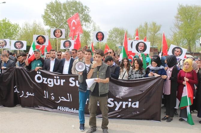 'Suriye'ye 460 Bin Adım' Etkinliği Gerçekleştirildi 1