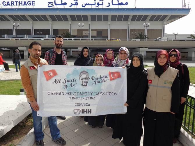 Tunus'ta Yetimlerle Dayanışma Günleri 1