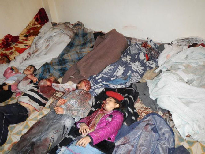(+18) Humus-Kerem Zeytunda Yaşanan Katliamın Görüntüleri 10