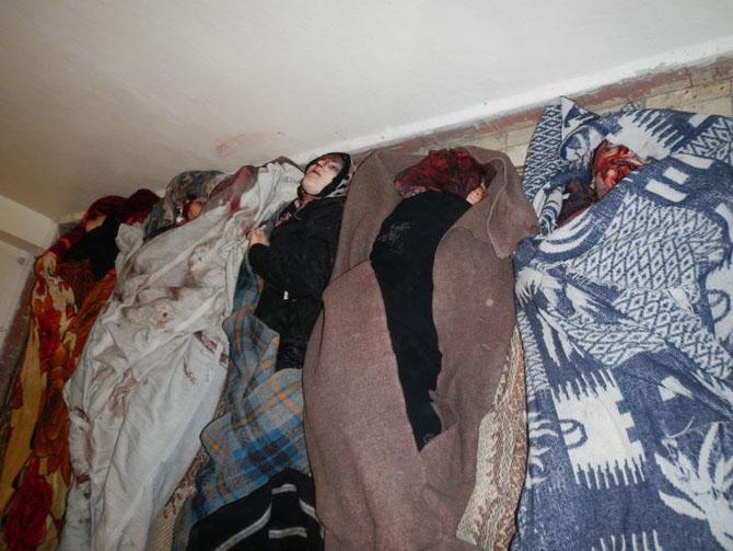 (+18) Humus-Kerem Zeytunda Yaşanan Katliamın Görüntüleri 12