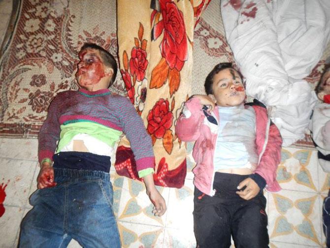 (+18) Humus-Kerem Zeytunda Yaşanan Katliamın Görüntüleri 14