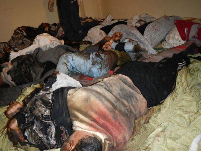 (+18) Humus-Kerem Zeytunda Yaşanan Katliamın Görüntüleri 16