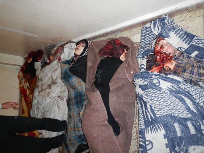 (+18) Humus-Kerem Zeytunda Yaşanan Katliamın Görüntüleri 18