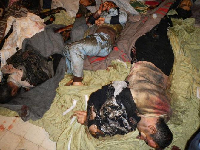 (+18) Humus-Kerem Zeytunda Yaşanan Katliamın Görüntüleri 19