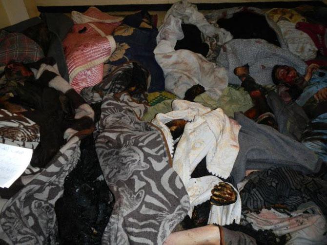 (+18) Humus-Kerem Zeytunda Yaşanan Katliamın Görüntüleri 2