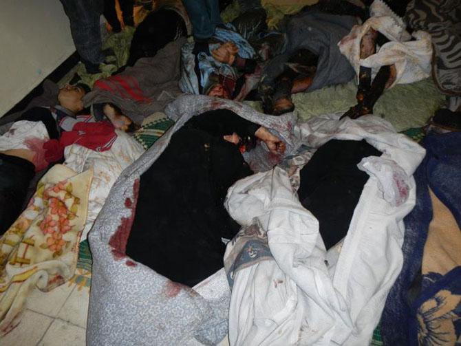 (+18) Humus-Kerem Zeytunda Yaşanan Katliamın Görüntüleri 21