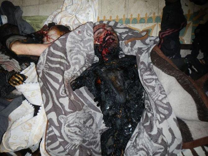 (+18) Humus-Kerem Zeytunda Yaşanan Katliamın Görüntüleri 22