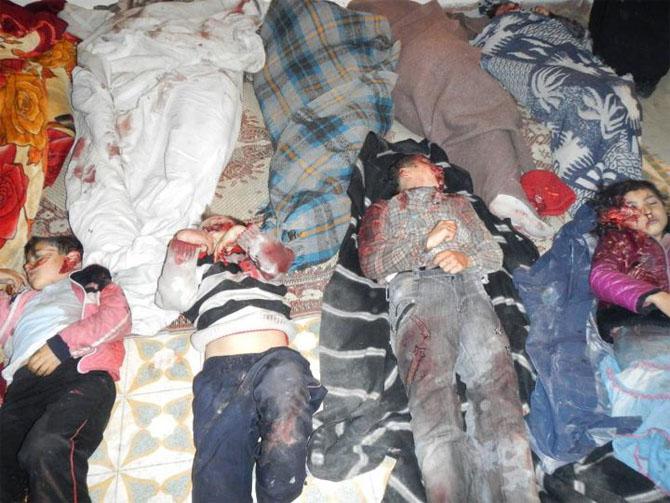 (+18) Humus-Kerem Zeytunda Yaşanan Katliamın Görüntüleri 23
