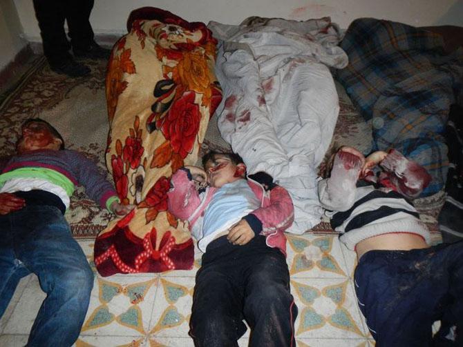 (+18) Humus-Kerem Zeytunda Yaşanan Katliamın Görüntüleri 24