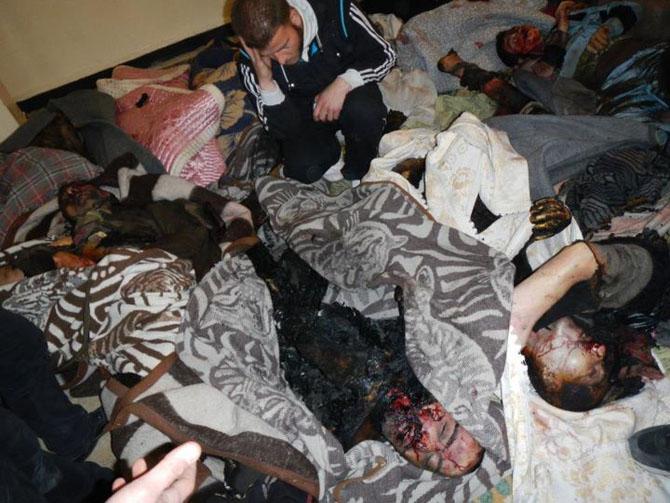 (+18) Humus-Kerem Zeytunda Yaşanan Katliamın Görüntüleri 25