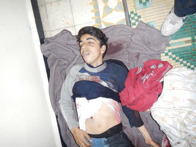 (+18) Humus-Kerem Zeytunda Yaşanan Katliamın Görüntüleri 26