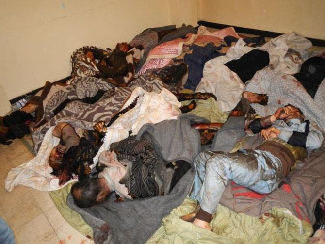 (+18) Humus-Kerem Zeytunda Yaşanan Katliamın Görüntüleri 27