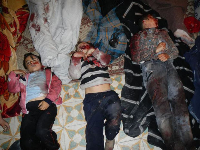 (+18) Humus-Kerem Zeytunda Yaşanan Katliamın Görüntüleri 3