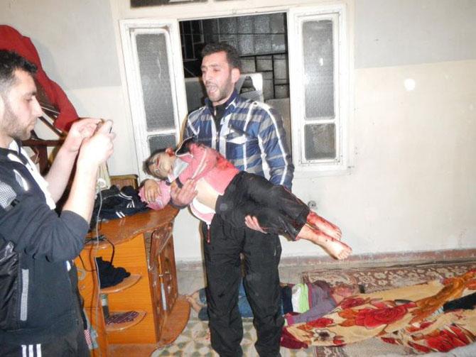 (+18) Humus-Kerem Zeytunda Yaşanan Katliamın Görüntüleri 5