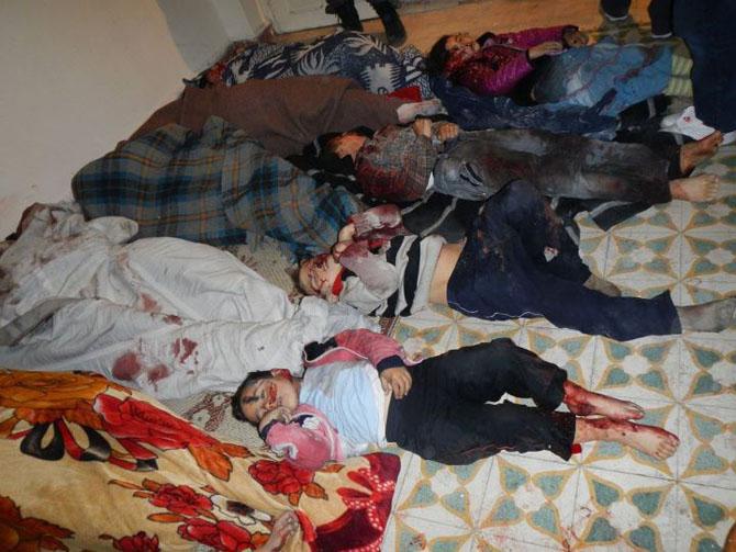 (+18) Humus-Kerem Zeytunda Yaşanan Katliamın Görüntüleri 6