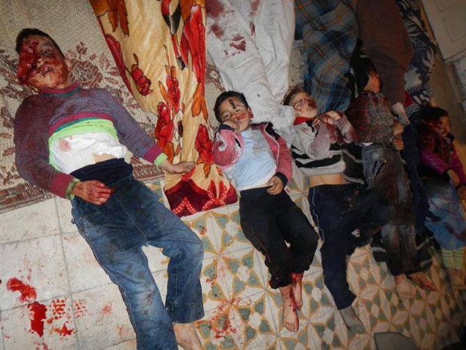 (+18) Humus-Kerem Zeytunda Yaşanan Katliamın Görüntüleri 7
