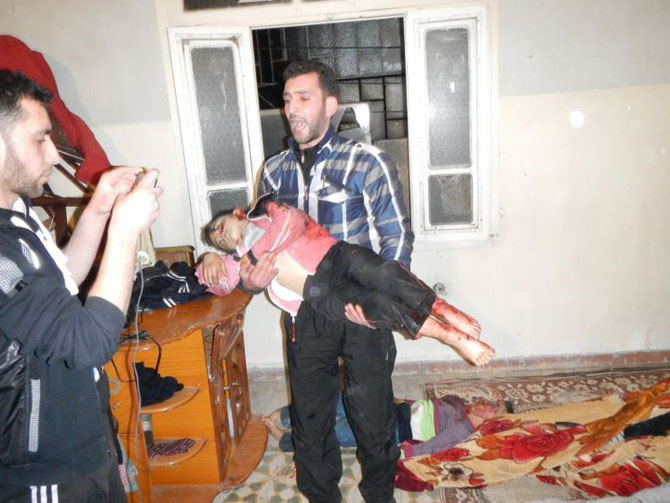 (+18) Humus-Kerem Zeytunda Yaşanan Katliamın Görüntüleri