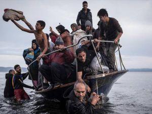 Mülteci Dramını Böyle 'Çektiler'