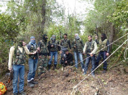 Özgür Suriye Ordusu kampından görüntüler 10