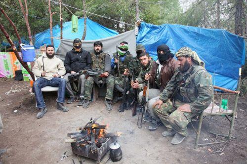 Özgür Suriye Ordusu kampından görüntüler 2