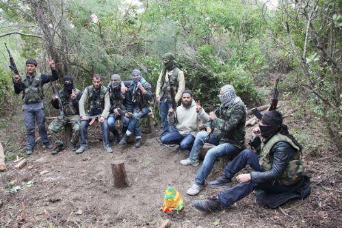 Özgür Suriye Ordusu kampından görüntüler 3