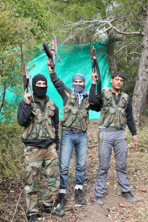 Özgür Suriye Ordusu kampından görüntüler 4