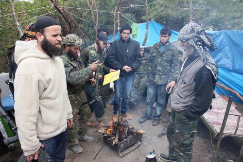 Özgür Suriye Ordusu kampından görüntüler 6