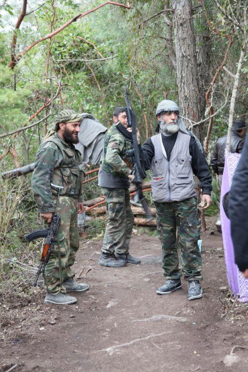 Özgür Suriye Ordusu kampından görüntüler 7