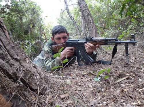 Özgür Suriye Ordusu kampından görüntüler 8