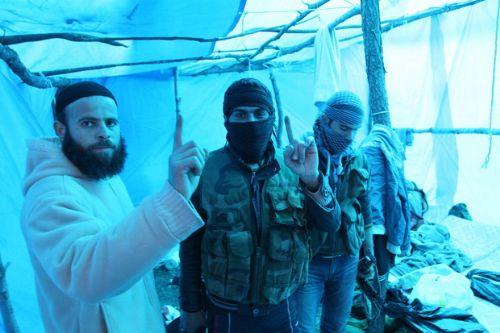 Özgür Suriye Ordusu kampından görüntüler 9