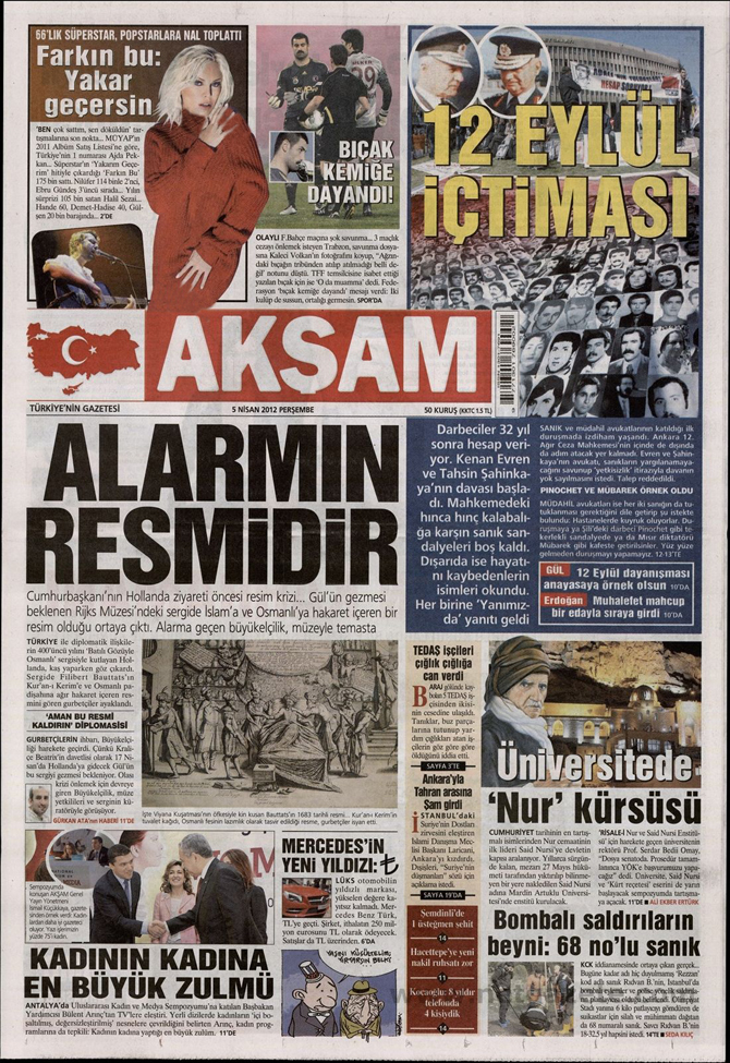 Gazete Manşetlerinde 12 Eylül Davası 1