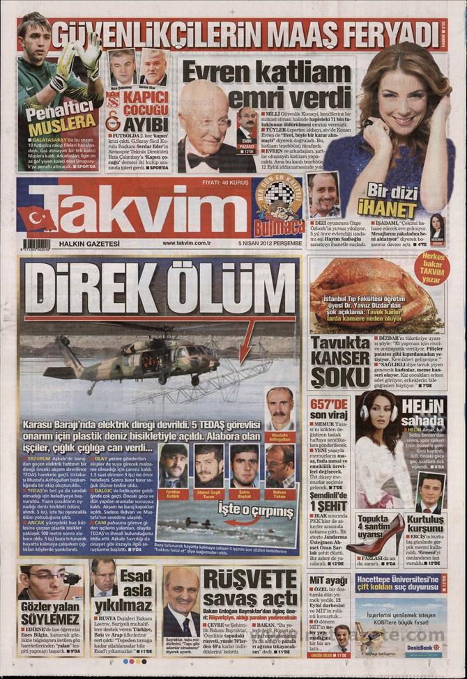 Gazete Manşetlerinde 12 Eylül Davası 15