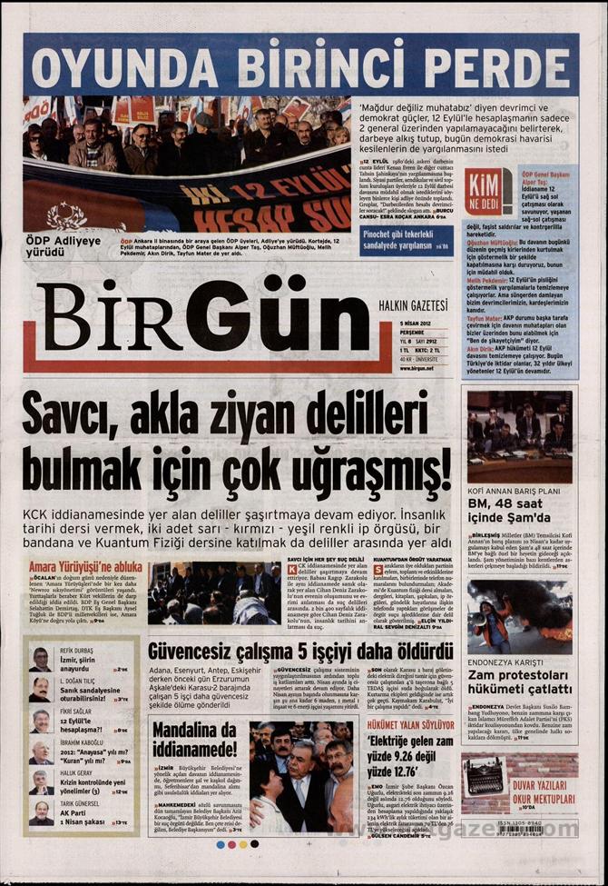 Gazete Manşetlerinde 12 Eylül Davası 2