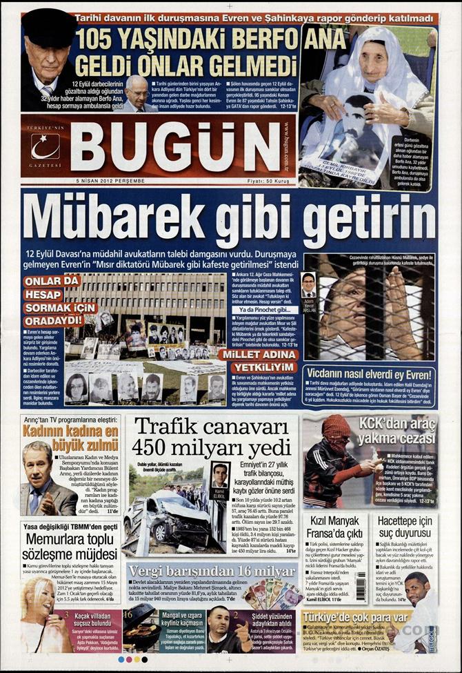 Gazete Manşetlerinde 12 Eylül Davası 3
