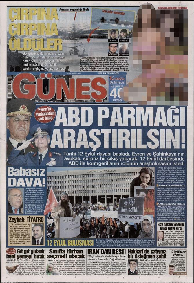Gazete Manşetlerinde 12 Eylül Davası 5