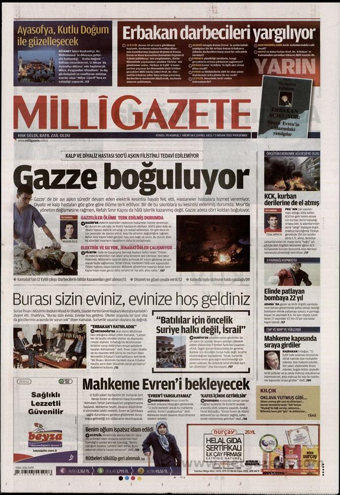 Gazete Manşetlerinde 12 Eylül Davası 8