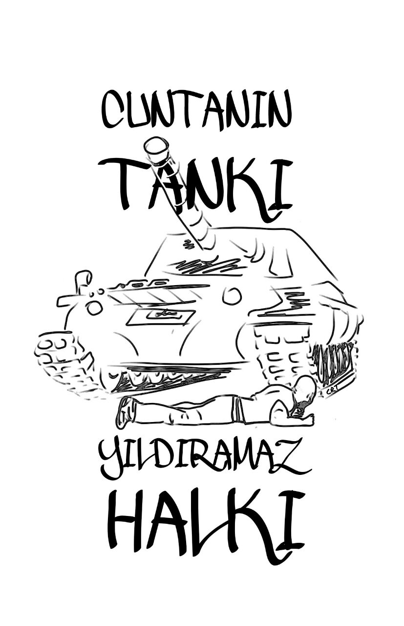 Darbecilerin Tankı, Yıldıramadı Halkı 1