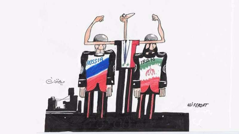 Esed, İran ve Rusya 1