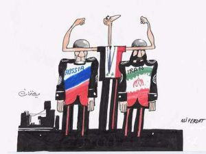 Esed, İran ve Rusya