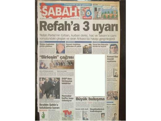 28 Şubatın Unutulmaz Manşetleri galerisi resim 1